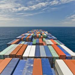 Container Sea Photo